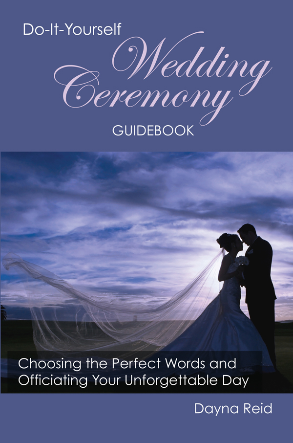 Do It Yourself Wedding Ceremony Guidebook